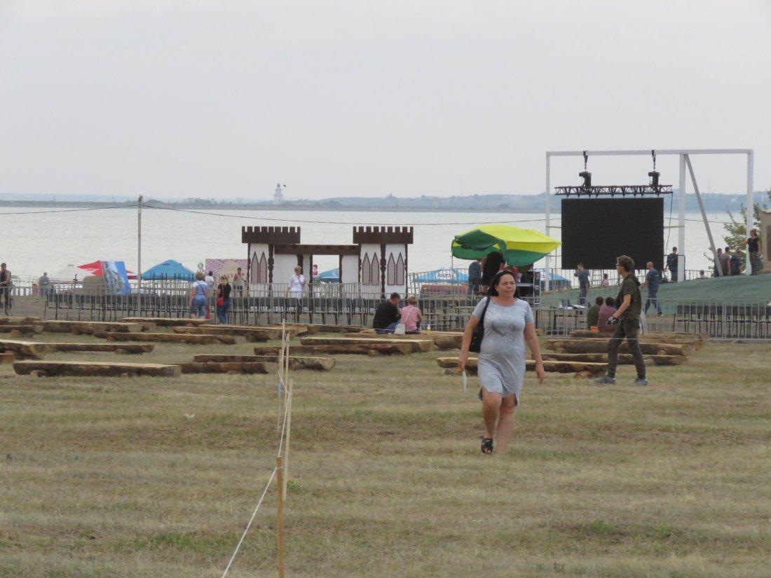 Фестиваль в Волгодонске начался со стройплощадки