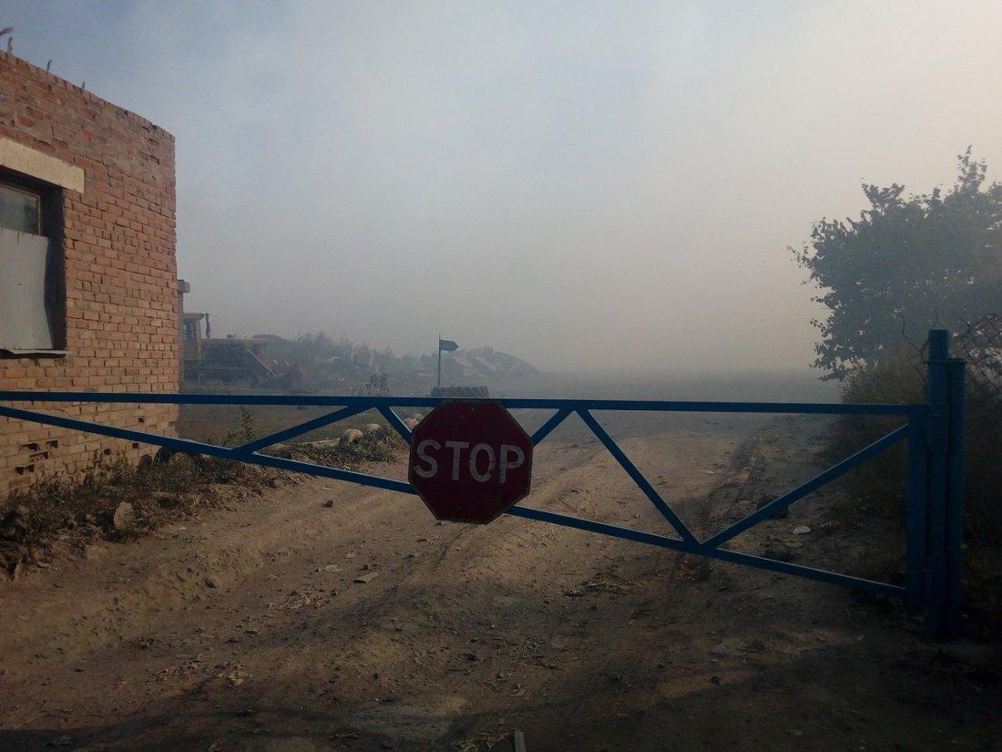 Пожар на мусорном полигоне в Волгодонске: подробности