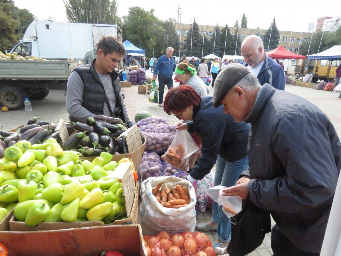 Прошедший затяжной дождь отпугнул многих торговцев от Волгодонска