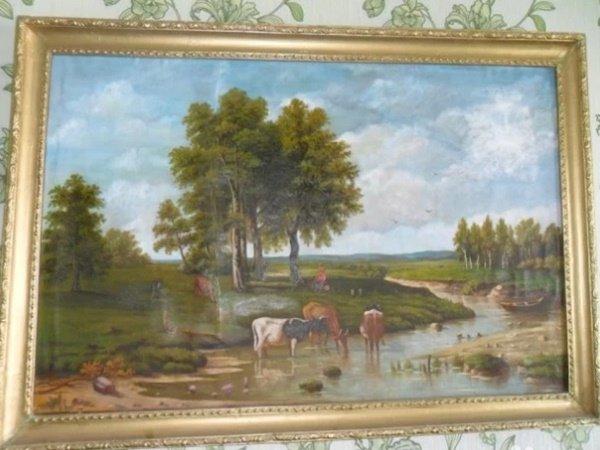 Волгодончанка продает картину 1812 года за 300 тыс рублей