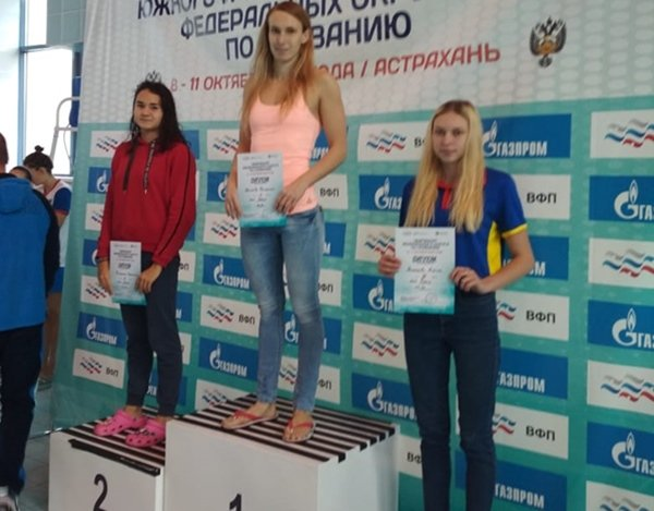 Спортсменки из Волгодонска завоевали четыре медали на Чемпионате по плаванию