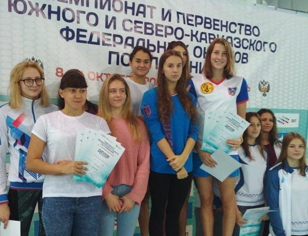 Более 20 медалей завоевали пловцы из Волгодонска на Чемпионате ЮФО