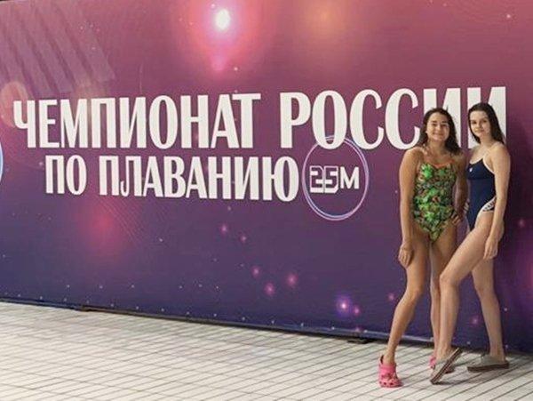 Спортсменка из Волгодонска установила два абсолютных рекорда города на  Чемпионате России по плаванию