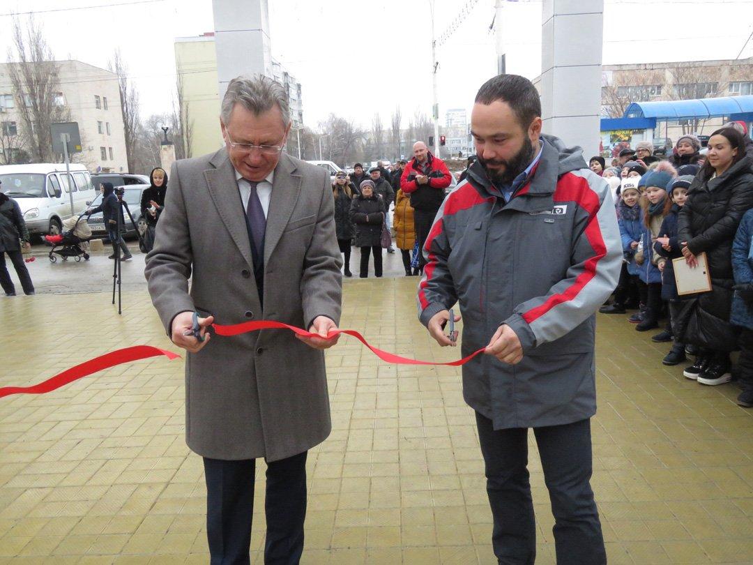 В Волгодонске завершили еще один этап реконструкции сквера «Дружба»