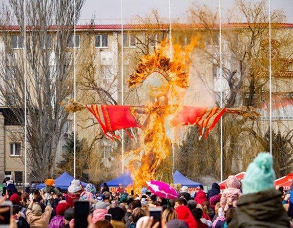 На Масленицу в Волгодонске будет пасмурно и тепло