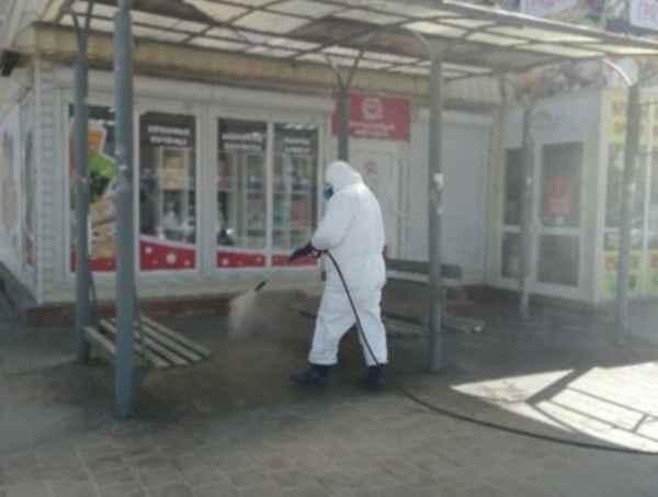 В Волгодонске начали проводить санитарную обработку улиц: видео