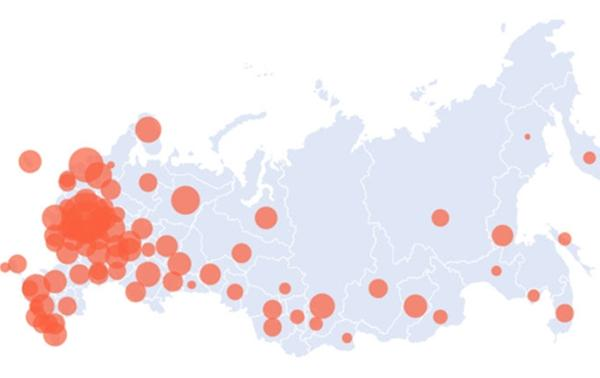 Количество заболевших COVID-19 в России приближается к 400 тысячам