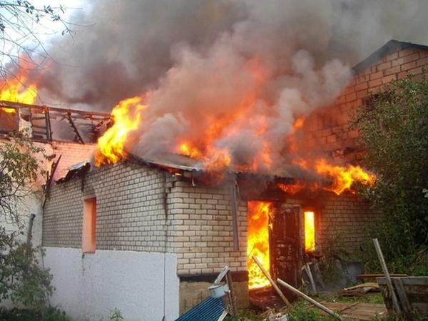 В одном из хуторов Дона сгорела летняя кухня