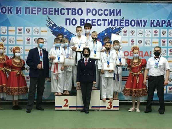 Каратисты из Волгодонска завоевали девять призовых мест на кубке России