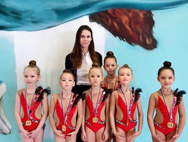 Юные гимнастки из Волгодонска привезли 12 медалей с открытого зимнего турнира