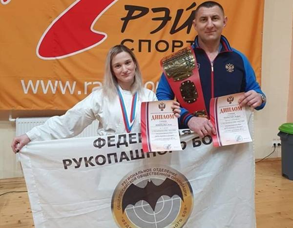 Двукратной чемпионкой России по рукопашному бою стала волгодончанка Анна Новикова