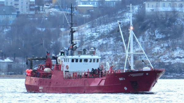 В Баренцевом море затонуло рыболовное судно