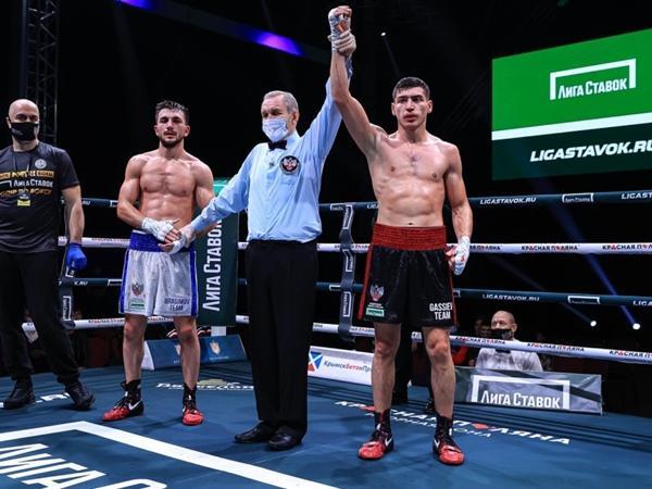 Боксер из Волгодонска Харитон Агрба победил в новогоднем турнире