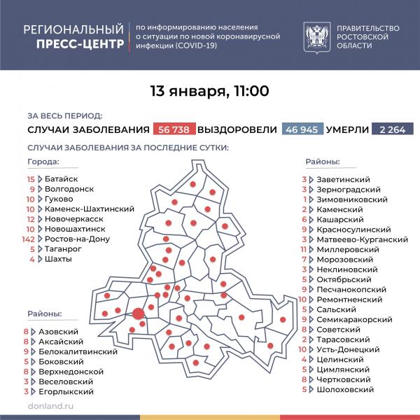 Еще 22 жителя Ростовской области стали жертвами коронавируса за минувшие сутки