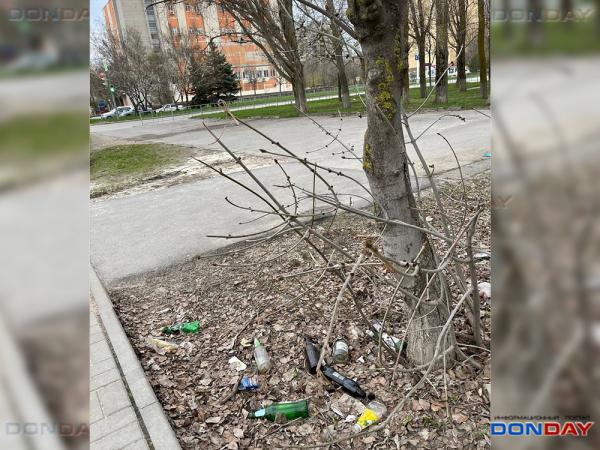 Зерноградский подрядчик не торопится приступать к уборке городских территорий в Волгодонске