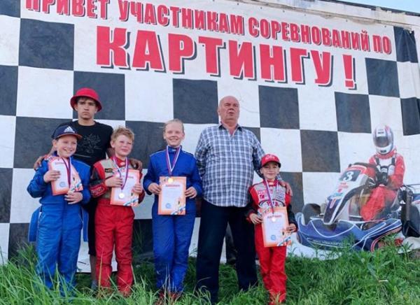 Два «золота» и два «серебра» завоевали картингисты из Волгодонска на этапе областных соревнований