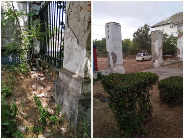 Заброшенное здание создает опасность в центре «Городка энергетиков» в Цимлянске